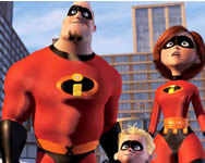 The incredibles find the alphabets Szuperh�s�s j�t�kok